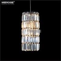 Small Modern Pendant Lights Crystal Hanging Lamp Lustre de cristal Dining room foyer Pendant Lighting lampadari 100% Guarantee