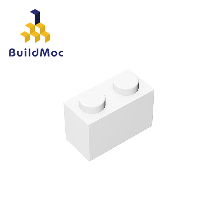 BuildMOC 3004 93792 1x2 high-tech Changeover Catch For Building Blocks Parts DIY Educational Classic Brand gift Toys