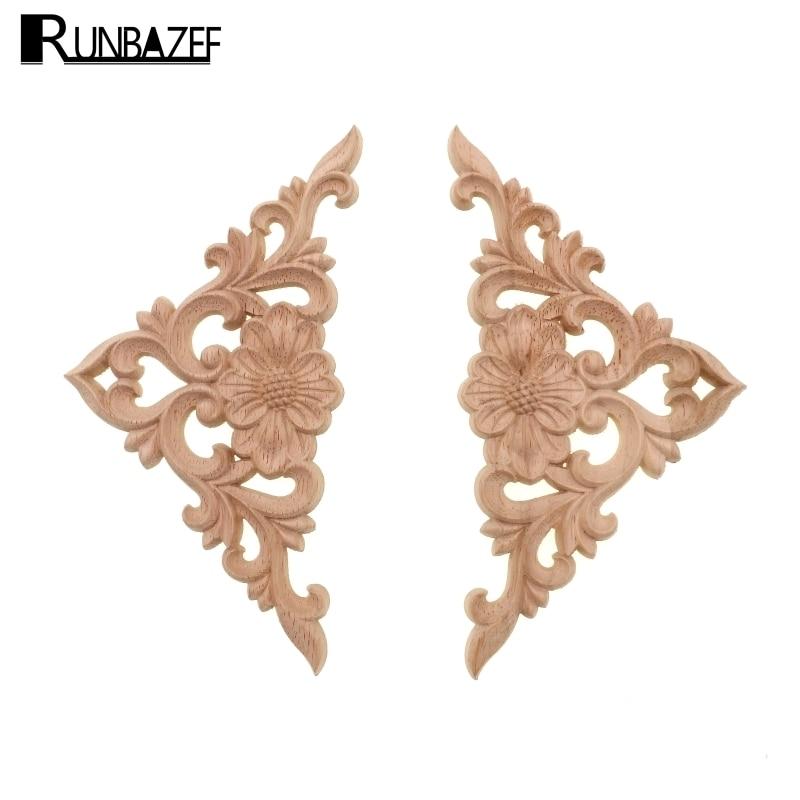 Деревянные фигурки RUNBAZEF, декор для стен, рама, декоративные фигурки