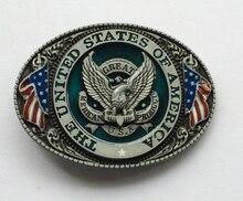 Grande In America Proudct Eagle USA Belt Buckle