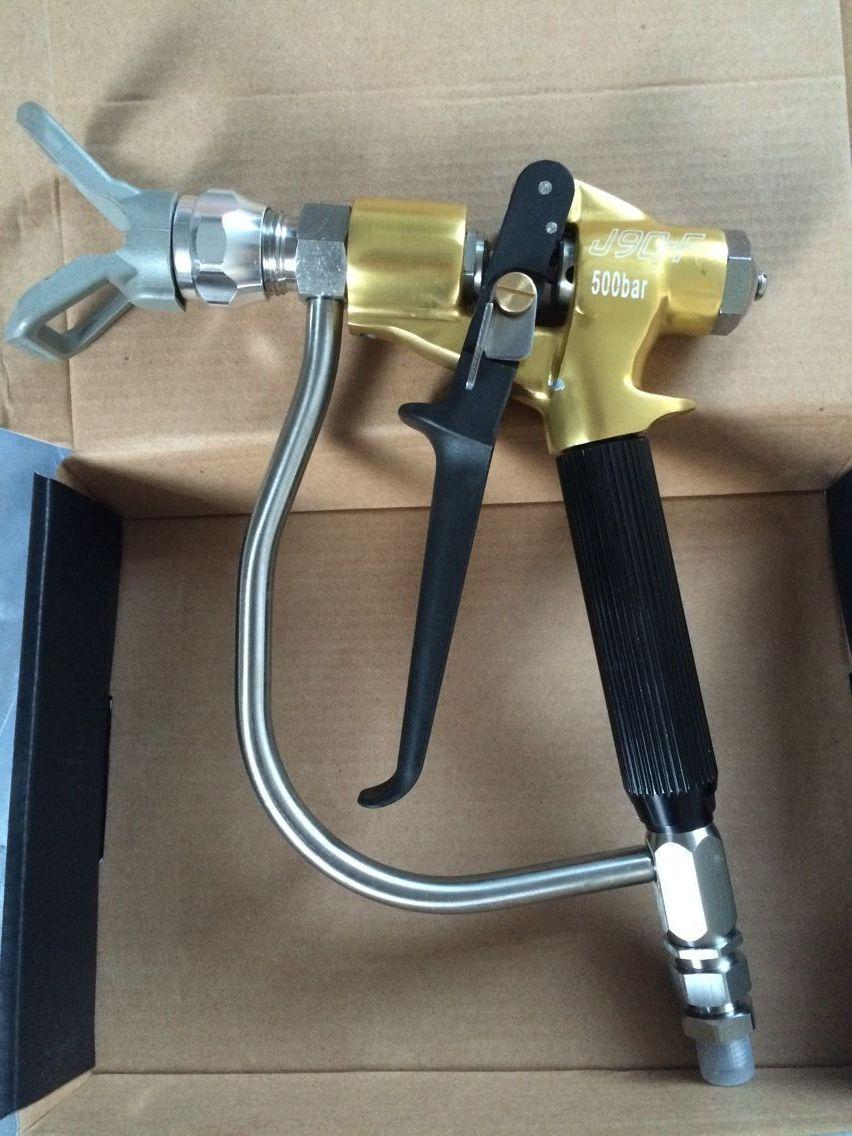 Airless machine electric putty sprayer gun aftermarket putty spray gun textrue painting tool enlarge
