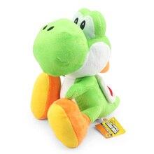 28cm grand Super Mario Bros vert Yoshi peluche poupée jouet avec étiquette doux Yoshi poupée enfant cadeau