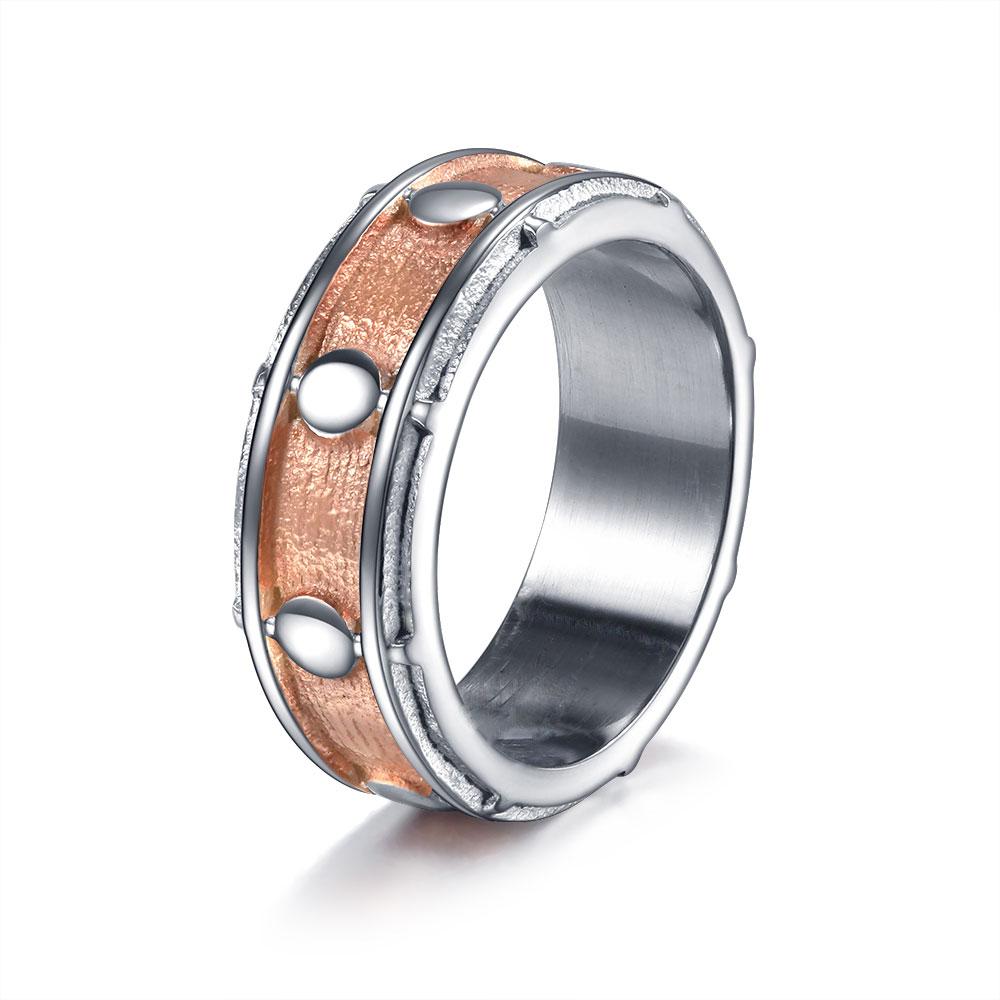 WAWFROK кольца для мужчин и женщин из нержавеющей стали кольцо рок-н-ролл Музыкальный барабан 2 цвета готический панк Anillos ювелирные изделия