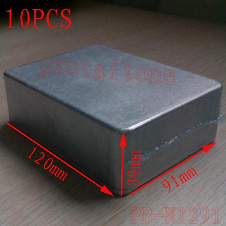 Guitar Effect Pedal Box,aluminum effects guitar pedal stomp box 120 (L) x91 (W) x39 (H) mm (Free Shipping )