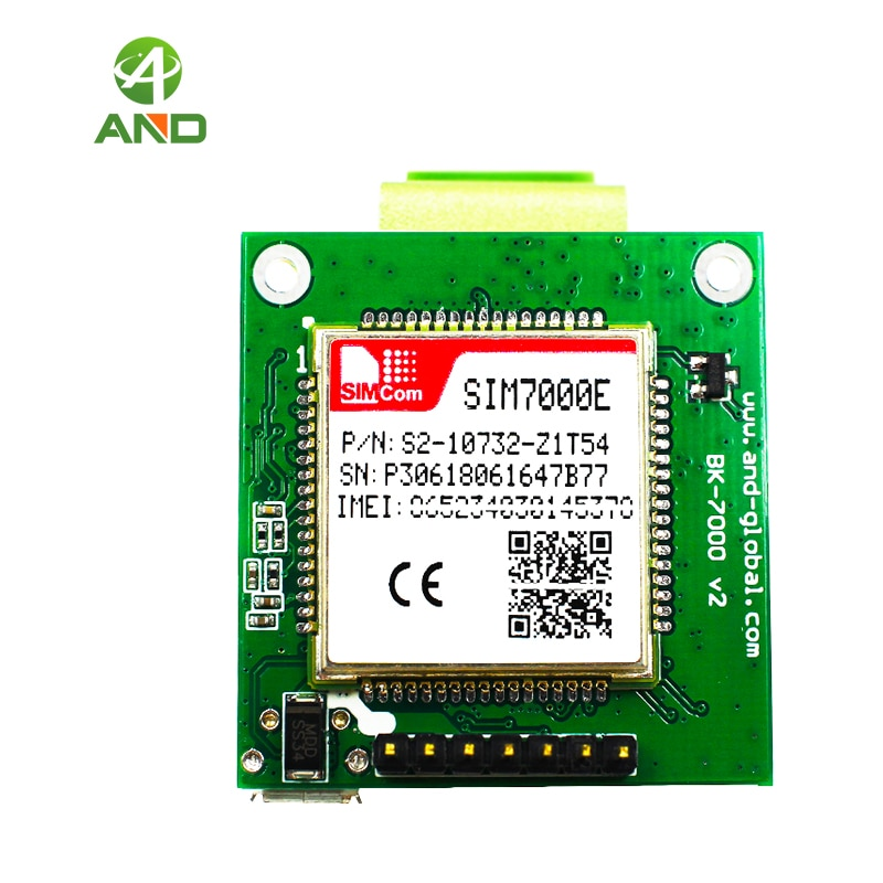 B3 B8 B20 B28 SIM7000E LTE CATM1 EMTC NB-IoT модуль, мини SIM7000E плата SIM7000E breakout board 1 шт.