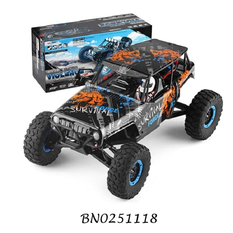 2,4 GHz 4WD 110 escala RC camiones remolque 2,4G vehículo eléctrico de escalada en roca todoterreno camión 40KM + coche de deriva RC de alta velocidad