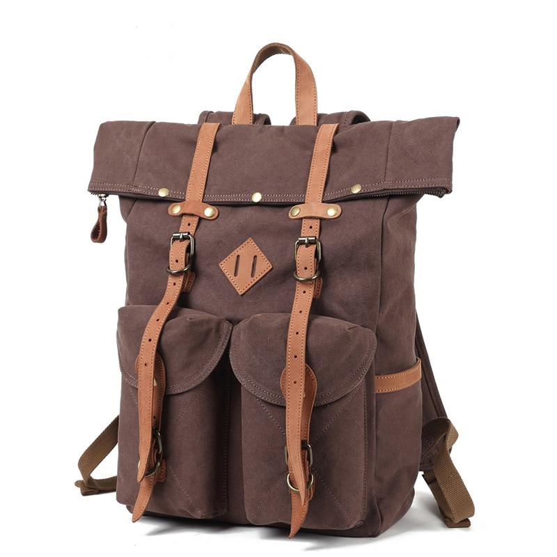 Genuine Leather Backpack Men Leather Genuine Shoulder Bag Backpack Men Vintage Travel Bags недорого