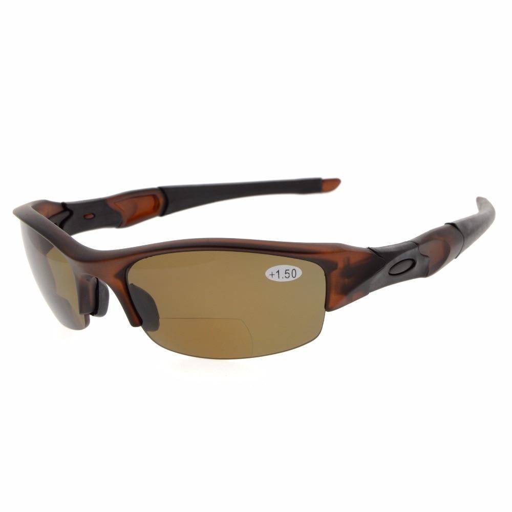 TH6166 Bifocal eyekepper TR90 irrompible medio-Rim deportes gafas de sol Bifocal gafas de lectura + 1,0/+ 1,5/+ 2,0/+ 2,5/+ 3,0