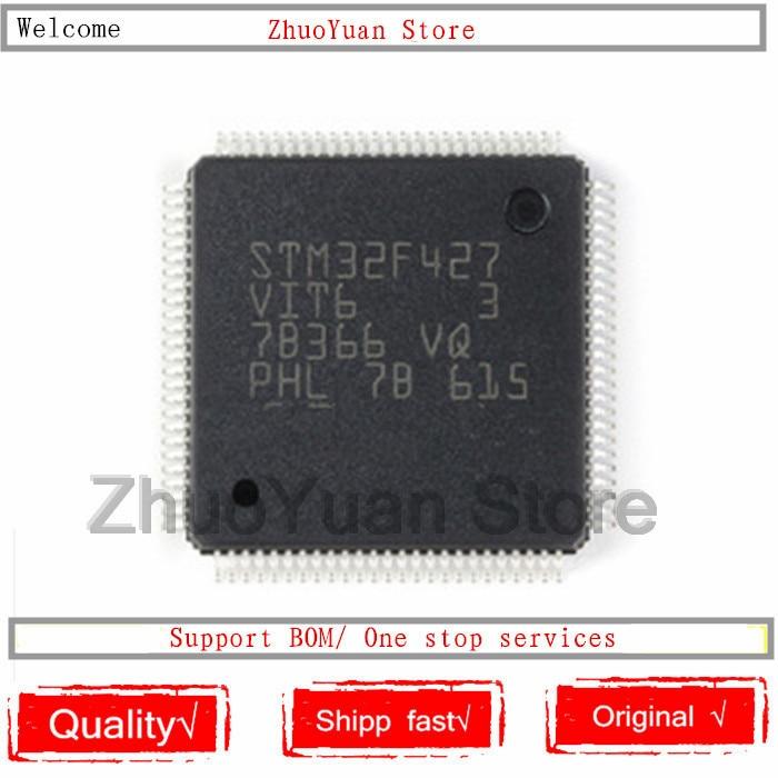 1 unids/lote nuevo original STM32F427VIT6 STM32F427 VIT6 LQFP-100 IC chip