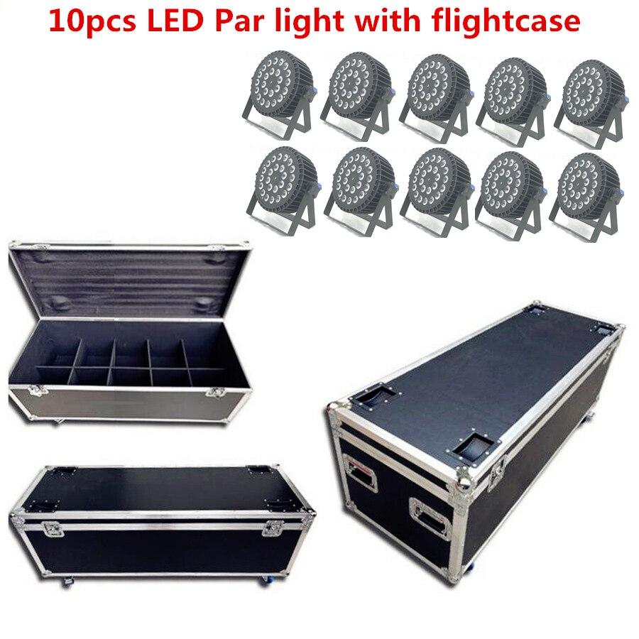 مصباح ديسكو UV 6 في 1 ، مصباح مسرح احترافي 24x18W RGBWA UV ، 10X