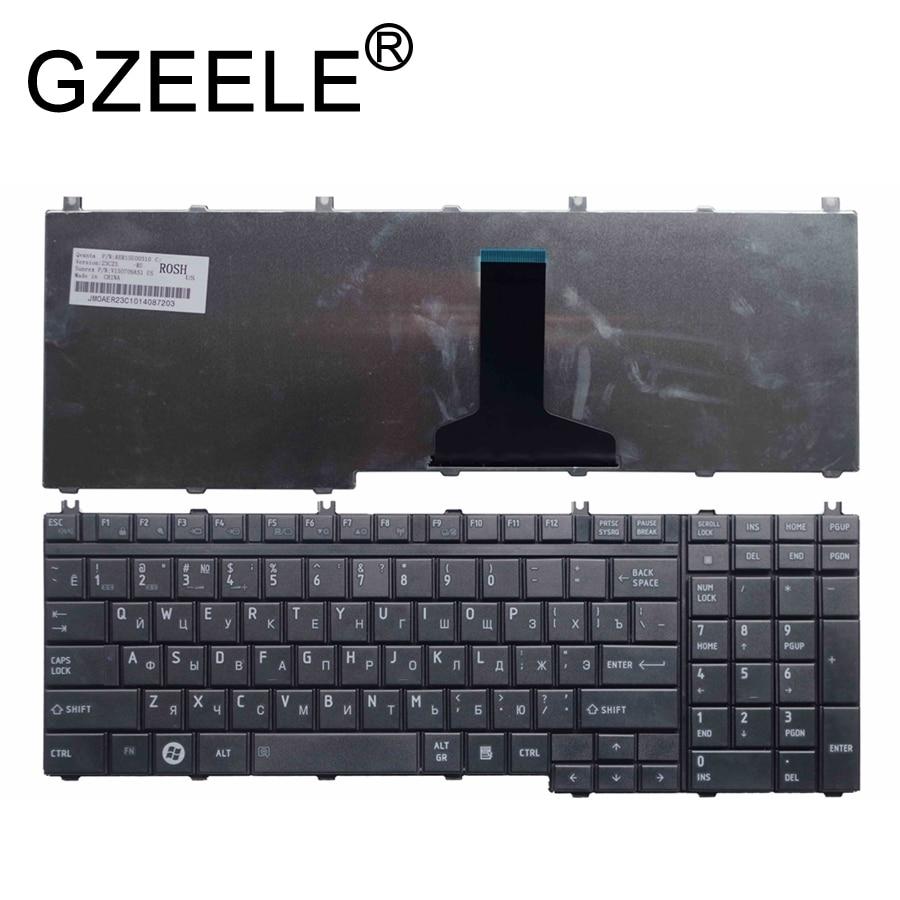 Teclado ruso GZEELE para Toshiba Qosmio G50 G55 F60 X205 X305 X505 F750 F755 pk130731b11 RU negro teclado