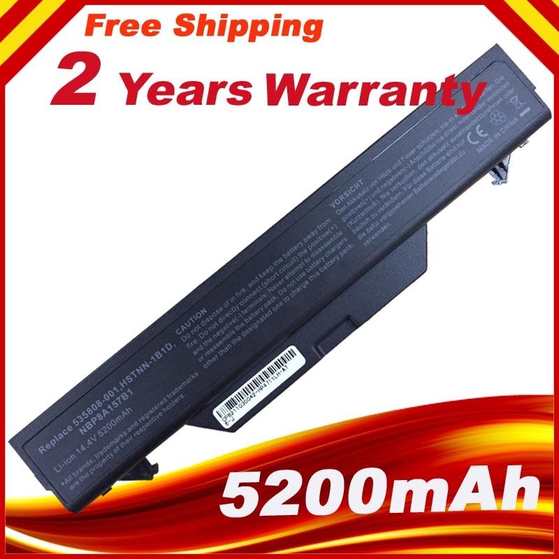 5200mah batería Pour para HP ProBook 4510 HSTNN-IB89 4710s CT HSTNN-1B1D NBP8A157B1