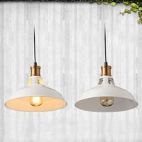 Modern Iron painted European style Chandeliers E27 LED 220V minimalist pendant lamp for living room kitchen restaurant bedroom