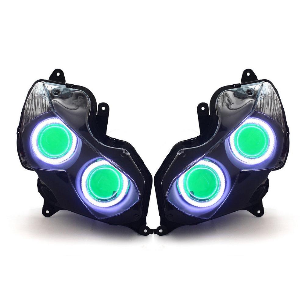 KT LED Headlight for Kawasaki Ninja ZX-14R ZZR1400 ZX14R 2012-2019
