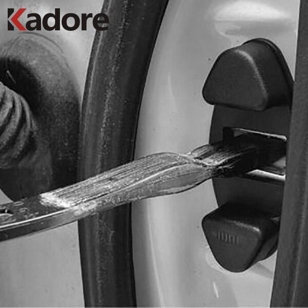 Para Toyota RAV4 RAV 4 2016, 2017, 2018, 2019 de la cerradura de puerta hebilla cubierta de protector de vástago de puerta para coche Limitting para cubierta de protección