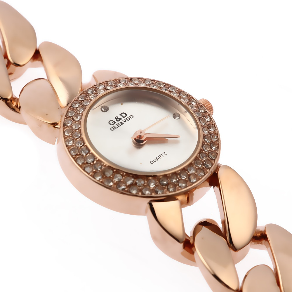 Relogio Feminino G&D Rose Gold Women's Quartz Wristwatches Stainlee Steel Analog Bracelet Jelly Fashion Reloj Mujer Clock Gift enlarge
