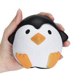 Pinguim de Brinquedo Squishies Squishy Lento Subindo Estresse Squeeze Macio presente Cinta Do Telefone Celular Bonito Simulação De Brinquedos para Crianças Animais F321