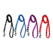 Высокое качество нейлоного печати поводок для питомца собаки прочный стойкость 1,2 метр Walk On поводки для собак кошек sacar el perro в пасеар 4 цвета