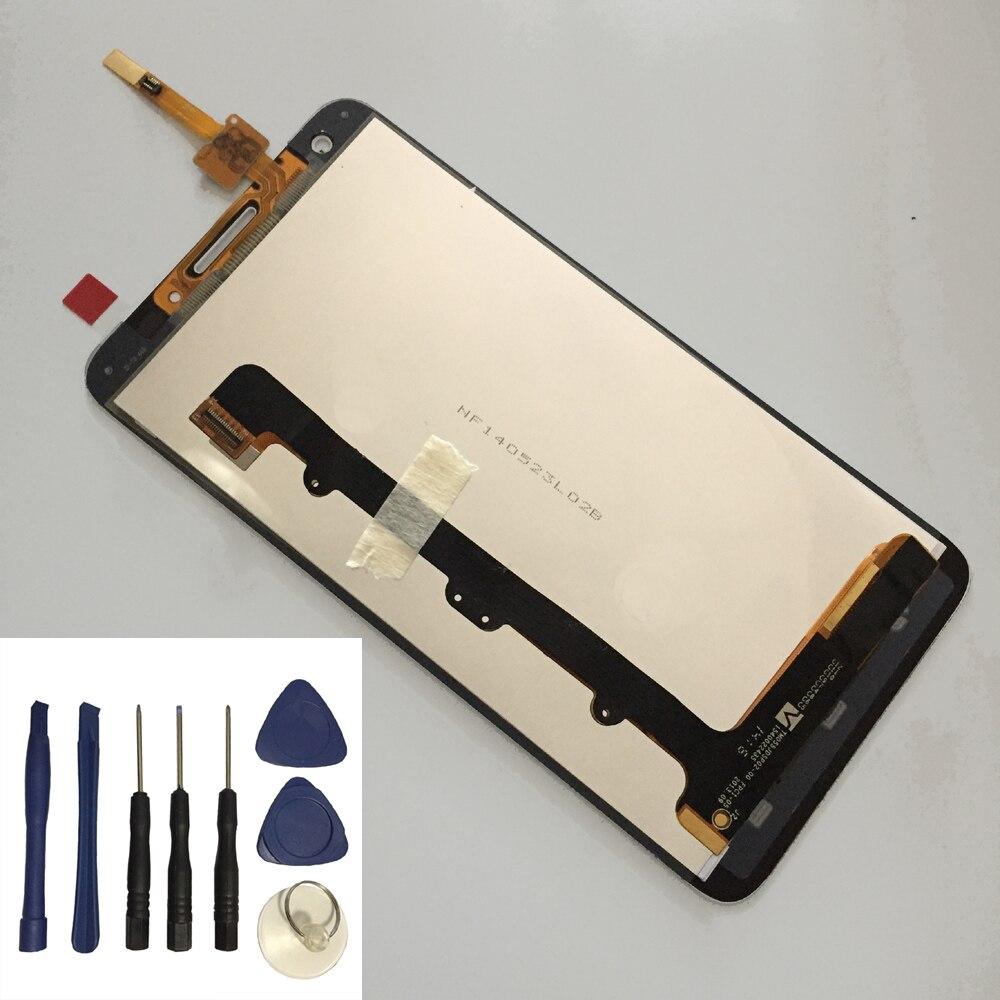 Para Huawei Honor 3X G750 G750-u10 G750-T01 digitalizador de Panel de pantalla táctil + montaje de módulo de Panel de Monitor de pantalla LCD + herramientas gratuitas