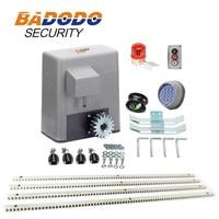 הטוב ביותר באיכות חשמלי הזזה שער פותחן מנוע מפעיל עבור 600 kg שער עם 6 m או 7 m פלדת מדפי