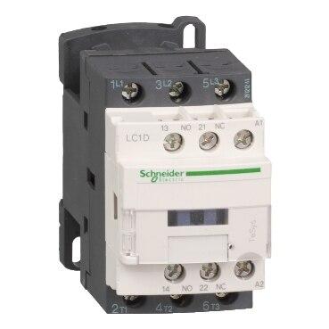 LC1D18 LC1D18E7 LC1D18E7C TeSys D contactor-3P(3)-AC-3 - <= 440 V 18-48 V AC de la bobina