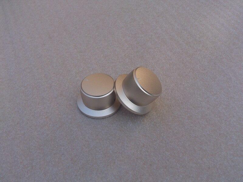 مضخم الصوت, مقبض قطر 44 عرقوب قطر 34 ارتفاع 25 مقبض مكبر الصوت الألومنيوم صلب حجم الجهد مقبض HIFI 44x34x25mm-10 قطع/المجموعة