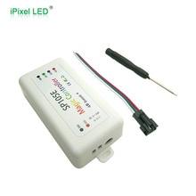 SP105E Bluetooth píxel controlador remoto LED APP Control SPI para tira LED RGB/LED