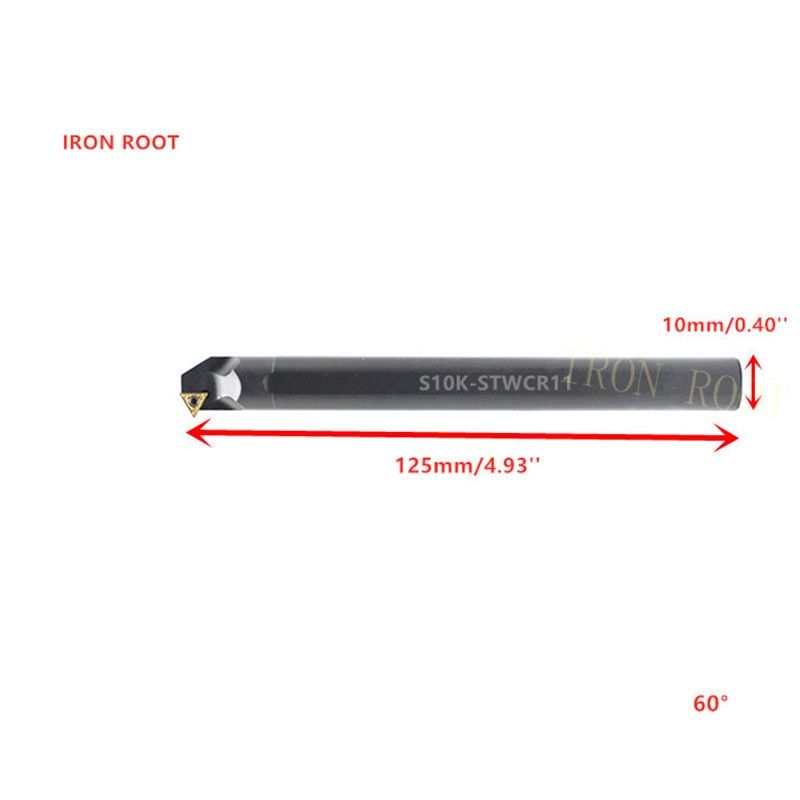 S10K/S12M/S14N/S16Q/S20R-STWCR11/STWCL11 CNC Torno Interno Ferramenta Gira Titular Bar Chato Para TCMT11 Inserir