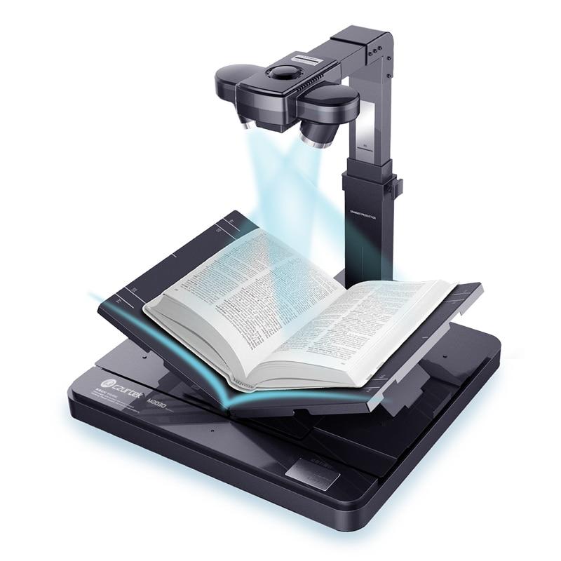 Szybki skaner książek z 10MP podwójny aparat i 34 języki OCR i podgląd skanowania z dwoma obiektywami synchronicznie i inteligentne oprogramowanie