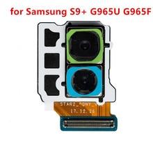 Двойные запасные части 12 миллионов пикселей, гибкий кабель задней камеры для Samsung Galaxy S9 Plus SM-G965U G965F