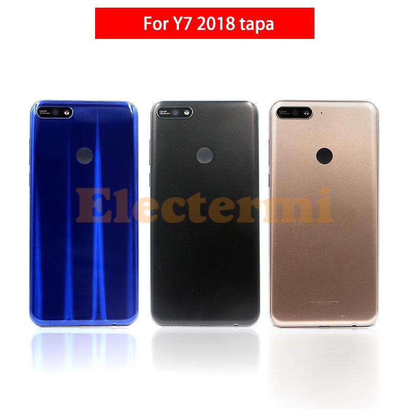 10PCS Y7 2018 Batterie Abdeckung Tapa Zurück Gehäuse Hinten Tür Fall Für Huawei Y7 2018 Y7 Prime 2018 Batterie abdeckung Freies Verschiffen