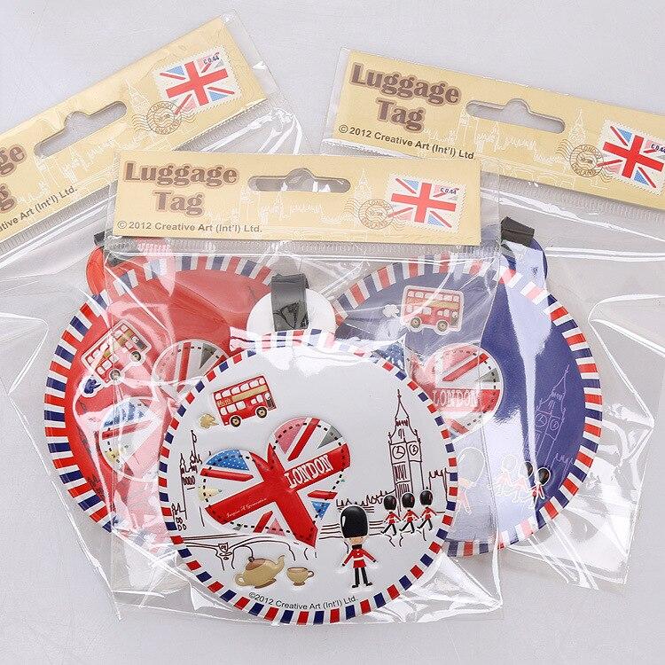 Londres, inglaterra bandeira soldados brindes Promocionais etiquetas de bagagem bagagem tag Lembrança linha de sacos de cartão de embarque
