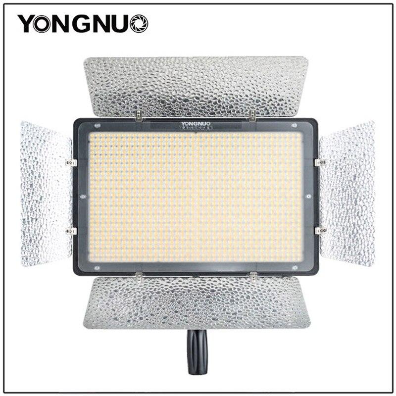 Nova yongnuo yn1200 led luz de vídeo 1200 luzes da lâmpada led iluminação fotográfica 3200 k-5500 k photo studio dslr câmera filmadora