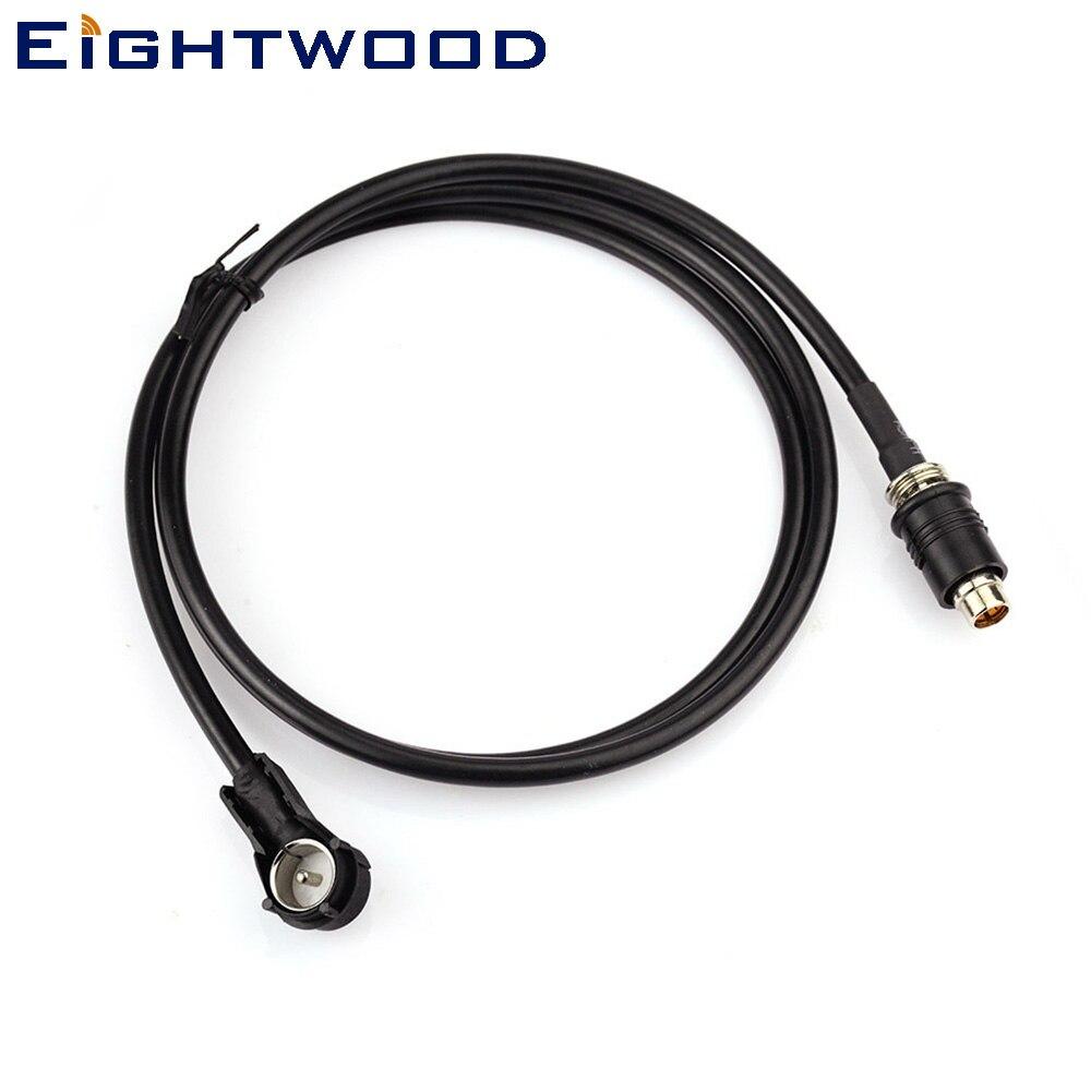 Автомобильная антенна Eightwood 16V стерео антенна адаптер Tetto ISO CAVO Cavo антенна 1 метр доступность RAKU RAST II 2 Rast-2 ISO Auto
