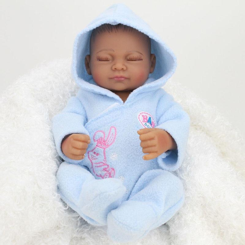 Muñecas bebé recién nacido de 28 cm, muñecas bebé de aspecto Real, muñecas para dormir de silicona suave realista, muñecas de vinilo para bebés de 11 pulgadas