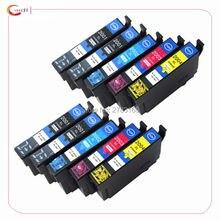 Paquet de 10 cartouches dencre Compatible Epson T200 XL pour Expression Hom XP200 XP300 XP310 XP400 XP410 cartouche dimprimante encres