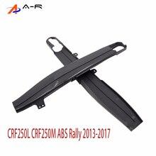 Siyah salınım kolu koruma kapakları Honda CRF250L CRF250M ABS ralli 2013-2017 CRF250 L M CRF 250L 250M