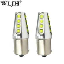 WLJH 2x1156 LED BA15S P21W 7506 הפוך אור קדמי מנורת איתות אחורית לקאיה אופטימה ריו רונדו סדונה ספיה נשמת ספקטרה