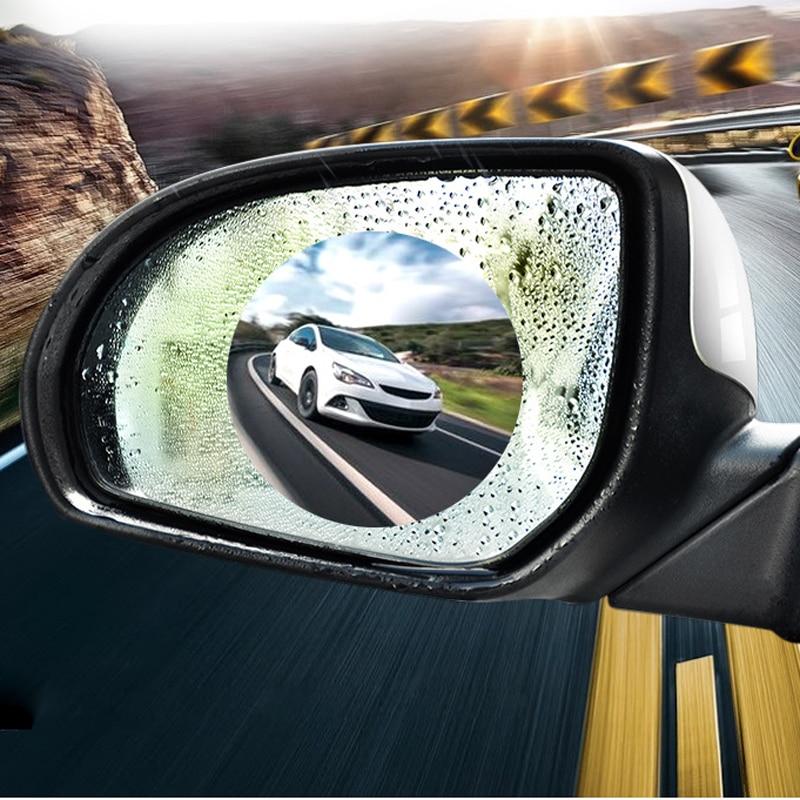 Автомобильное зеркало заднего вида Водонепроницаемая противотуманная пленка для Honda civic accord crv fit jazz city hornet hrv Subaru Forester Impreza Outback