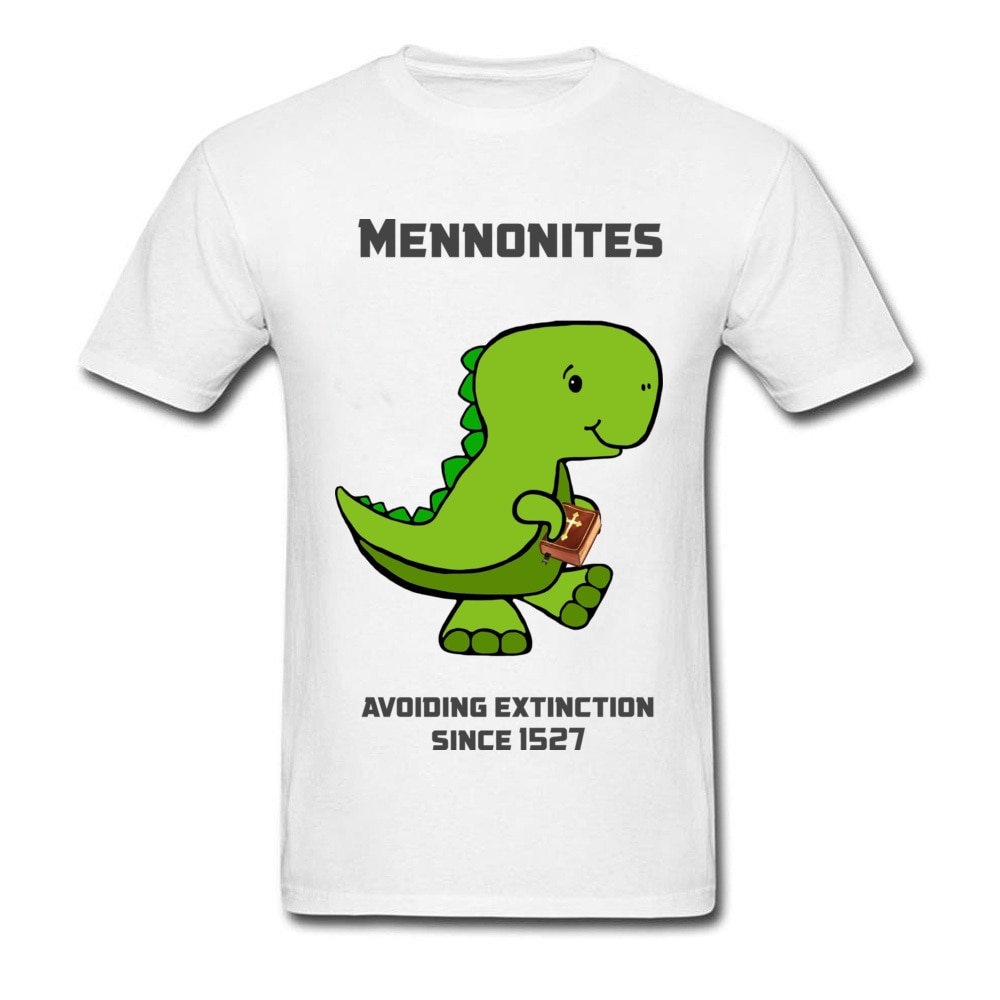 Camiseta Mennonite Asuras de dibujos animados de dinosaurio verde, diseño de cuello redondo, manga de Siege de arco iris seis, orgullo puro, camisetas populares para hombres