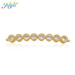 100% feito à mão jóias componentes ouro/rosa jóias de ouro charme conector acessórios para mulheres pulseiras colares diy fazendo