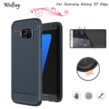 Wolfsay For Phone Cover Samsung Galaxy S7 Edge Case Silicone Phone Case For Samsung Galaxy S7 Edge C