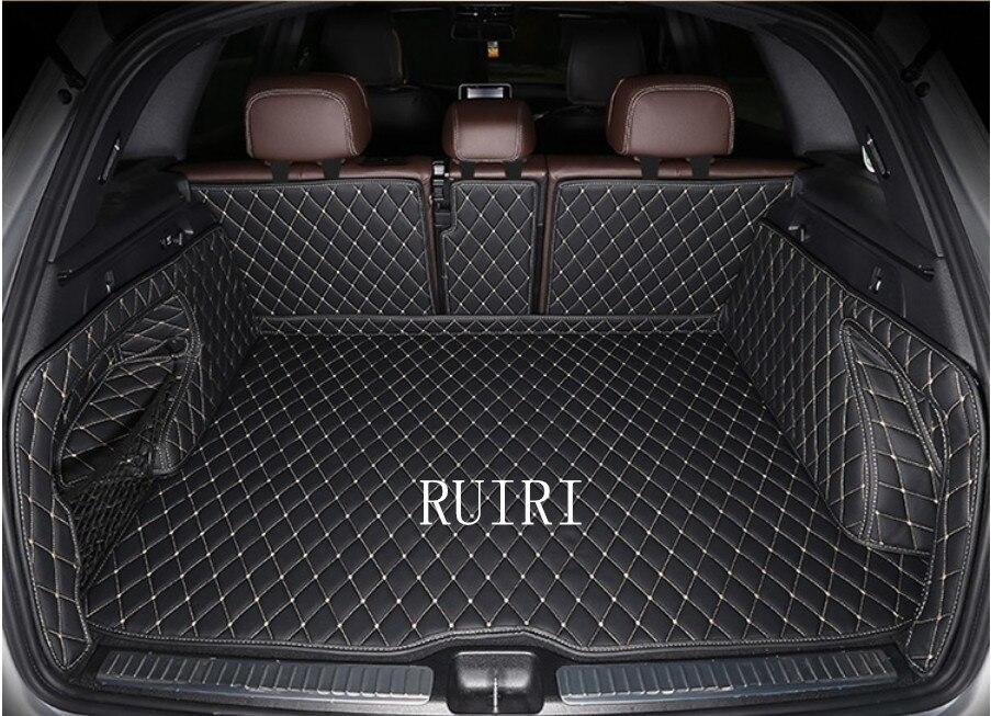 Alta calidad! Esteras especiales del tronco para Mercedes Benz GLC 43 AMG 2018-2015 alfombras duraderas cargo liner para GLC43 2017, envío libre