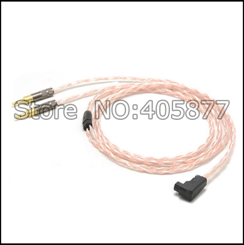 RSA/ALO a 2,5mm, enchufes 5N de cobre puro OFC, Cable para auriculares HD700