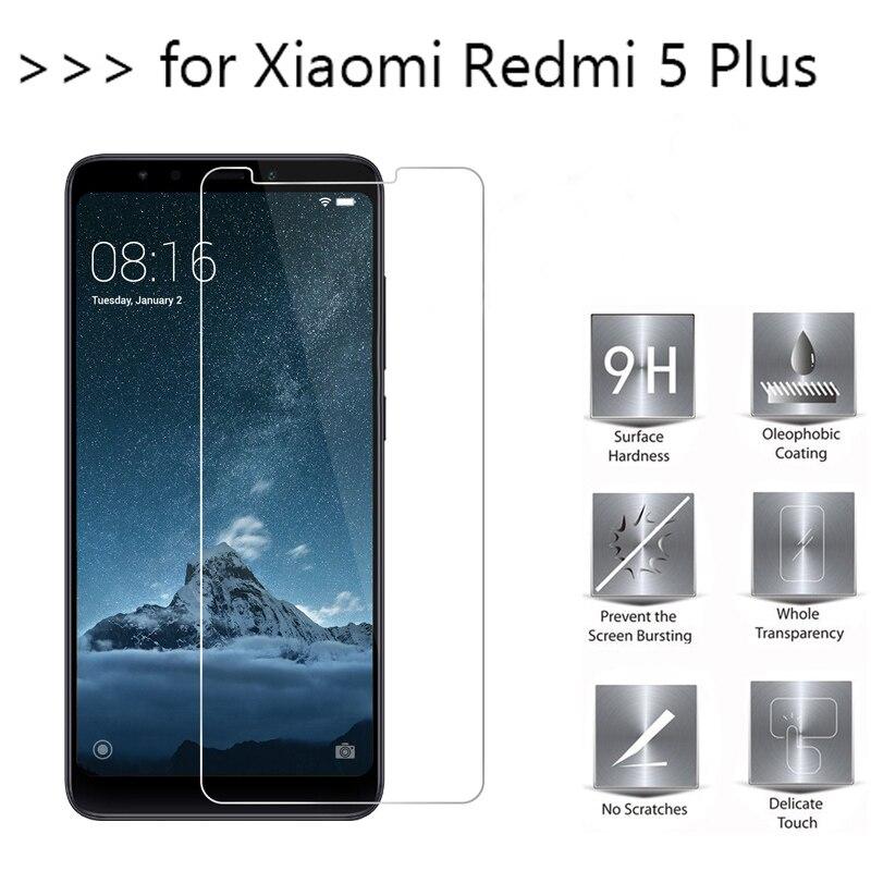 9H Redmi 5 Plus vidrio para Xiaomi Redmi Note 5 Pro 5 Plus 5A vidrio templado Redmi Note5 Note 5Pro película protectora de pantalla