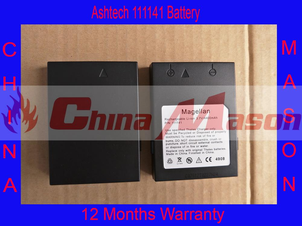 Alta qualidade 111141 batttery para ashtech/magellan promark3, thales cx, thales mmce, ashtech 111141 bateria