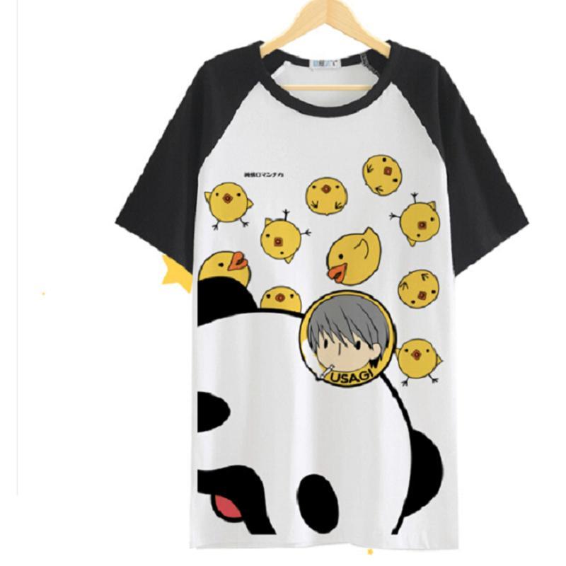 Junjou Junjo Romantica Usami Akihiko Casual pollo lolita kawaii camiseta QMilch Camiseta de manga corta Camiseta
