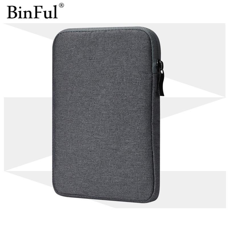 "Binful impermeable Tablet bolsa funda para todo Kindle Paperwhite 1/2/3 6 ""funda viaje Pocketbook 622 623 e-reader cubierta portátil"