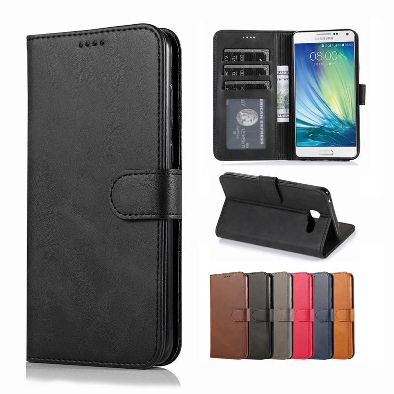 Casos para Samsung Galaxy A5 2016 a510 caso imán Flip de lujo cartera Vintage bolsa de cuero Teléfono para Samsung A510F 5 Funda