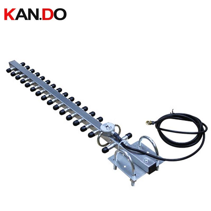 Antena exterior de 16 dbi 2.4g wifi yagi do ganho alto, antena yagi da antena de wifi